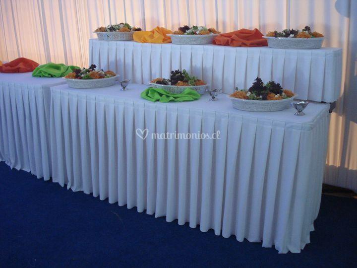 Mesas buffet
