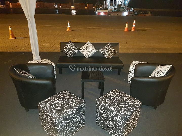 Set lounge en negro