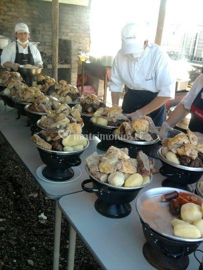 Buffet de carnes