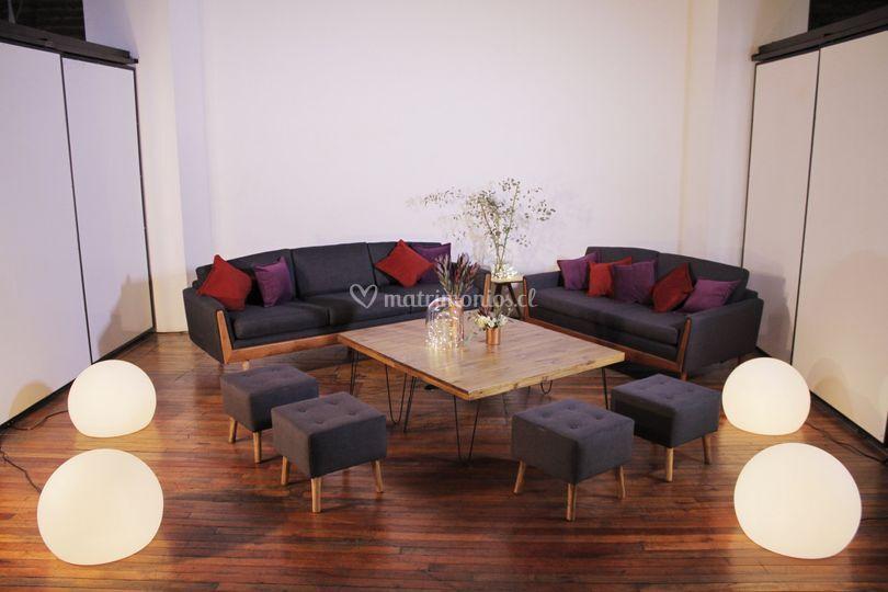 Lounge 10 pax