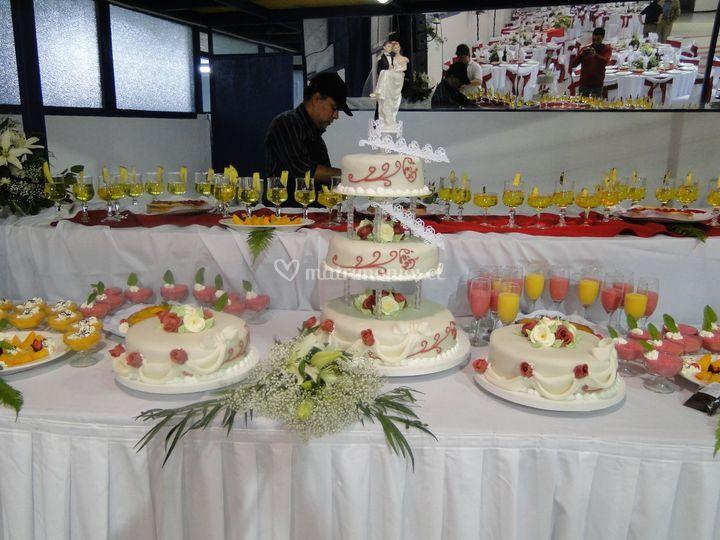 Banquete matrimonio