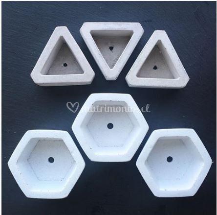 Hexágonos/triángulos hormigón