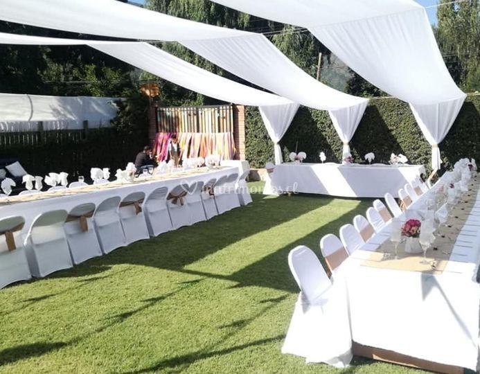 Banquetería para matrimonio