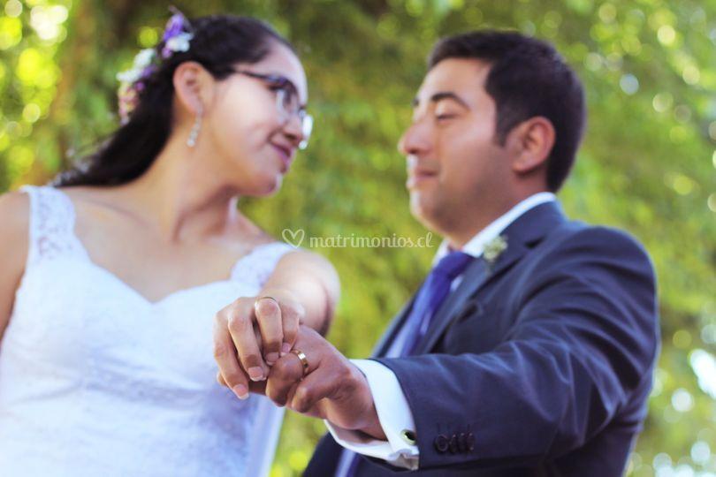 Matrimonio makarena y lisandro