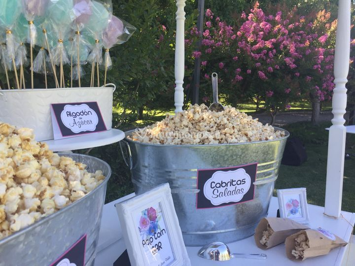 Pop corn bar personalizado
