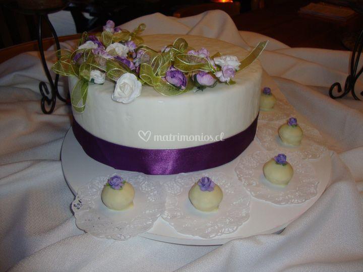 Torta  decorada en fondant