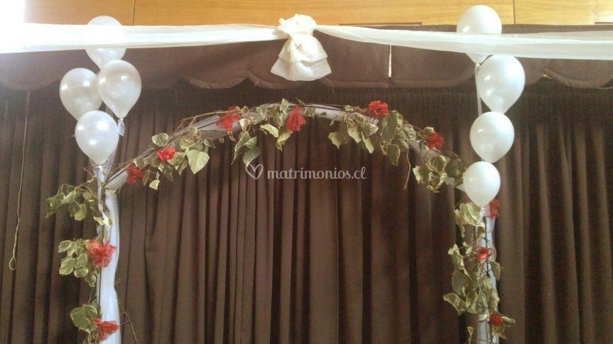 Arco para decorar salón