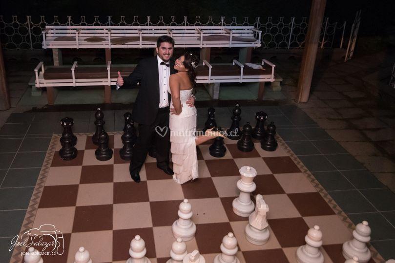 Primera partida de ajedrez