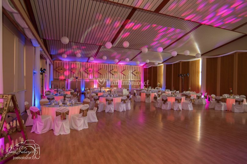 Salón de eventos interior