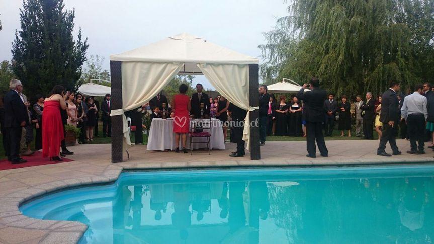 Ceremonia Fondo Piscina