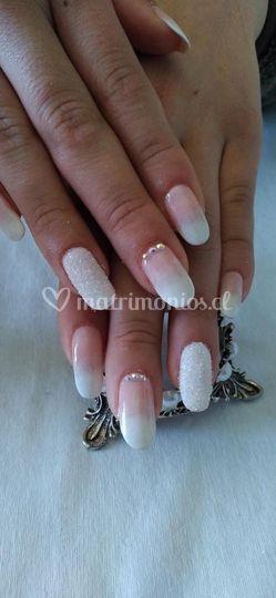 Diseño de uñas sencillo