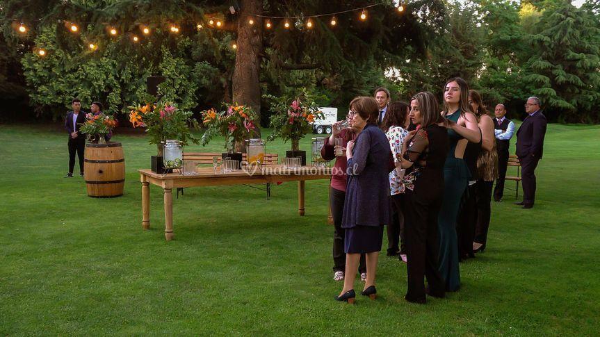 Matrimonio a aire libre