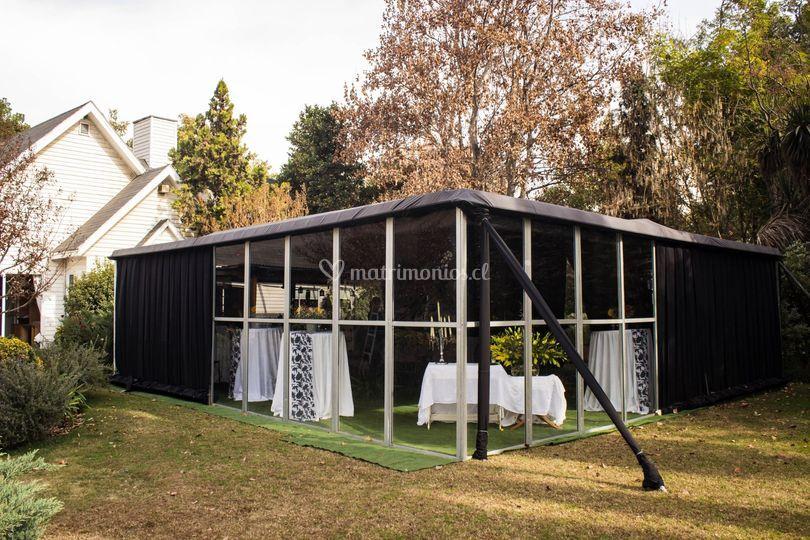 Casa particular paneles aluminio