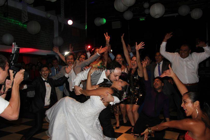 Baile sorpresa de los novios