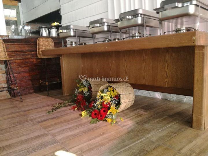 Decoracion buffet
