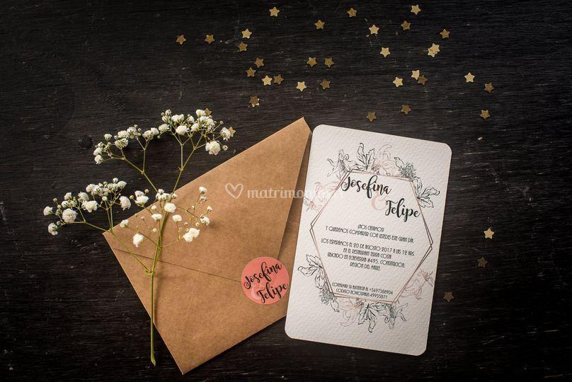 Invitación matrimonio