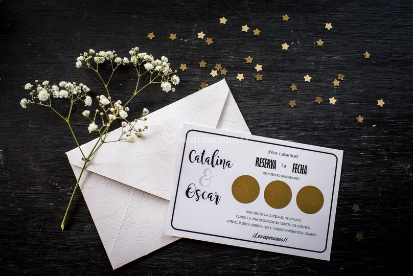 Invitación matrimonio raspe