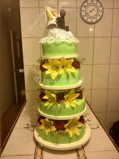 Torta de novios dec masa