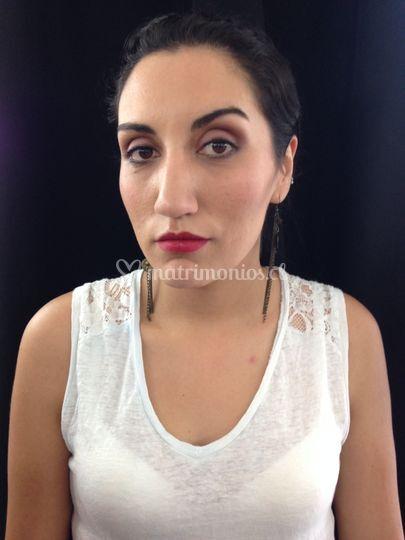 Maquillaje para Danae
