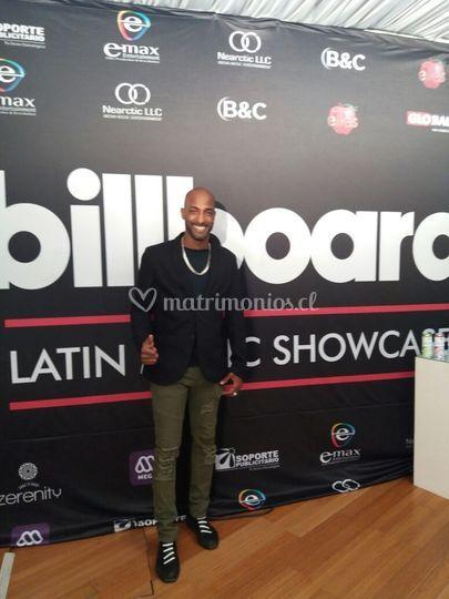 En los premios Billboard