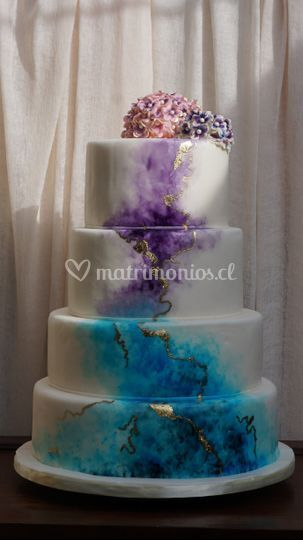 Torta hortencia