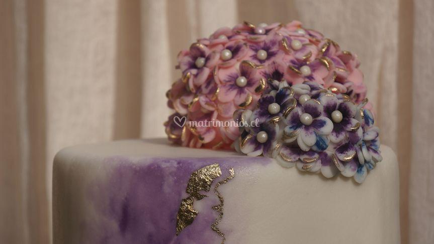 Torta hortensia