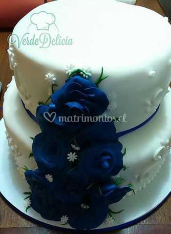 Hermosas Rosas Azules De Verde Delicia Foto 35