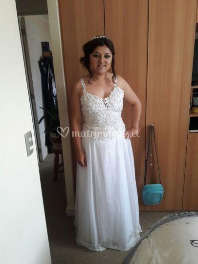 Vestidos de novia en gaza