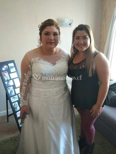 Modificación vestido novia