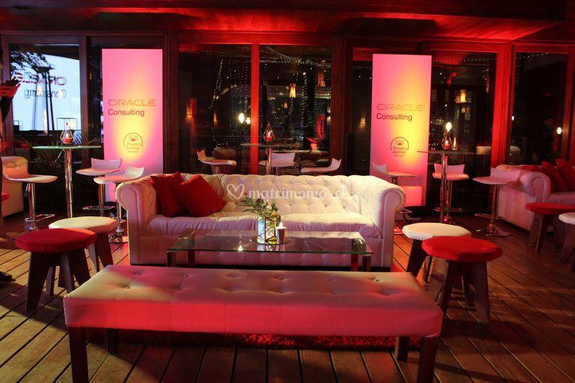 Ambientación Lounge