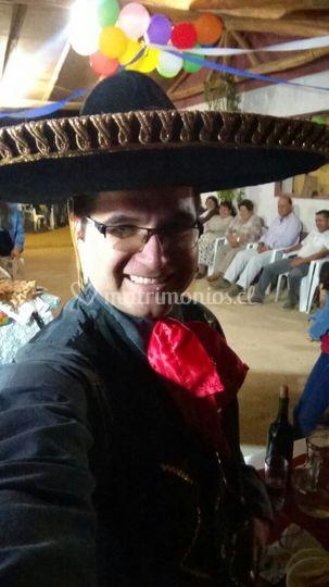 Cumpleaños mexicano en tabunco