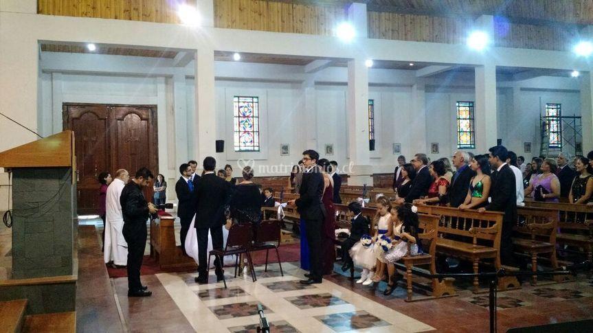 Boda en iglesia san agustín