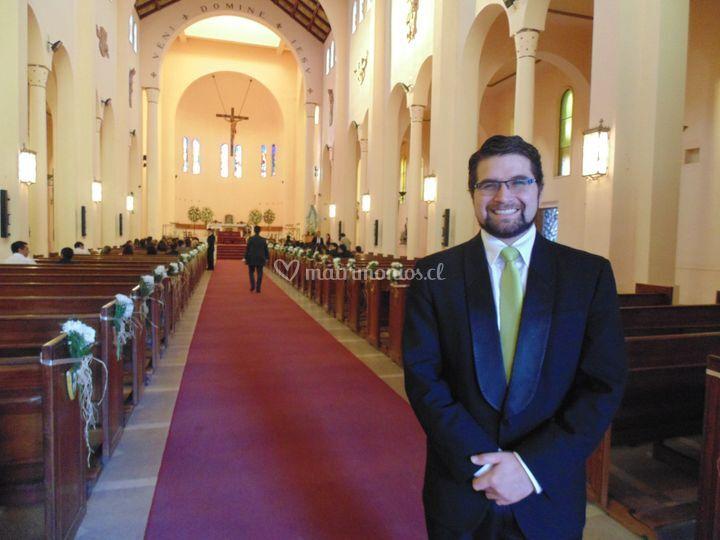 Boda en Catedral de Talca de Felipe Abarca Avila - Cantante