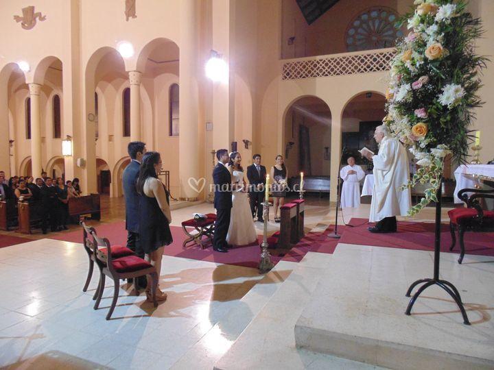 Boda en Catedral de Talca