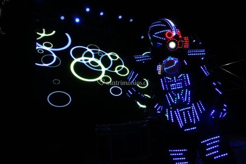 Robot Láser Led