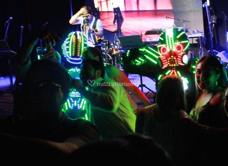 Show de robot para eventos