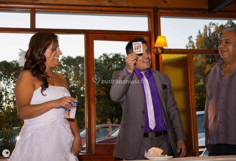 Magia con la novia
