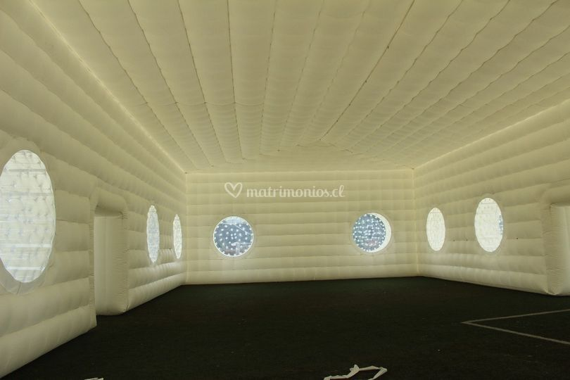 Interior inflable