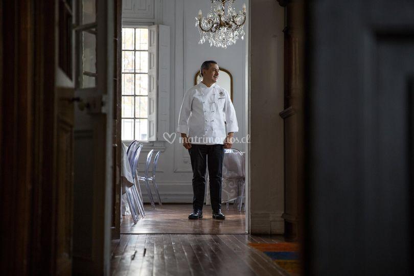 Chef Guillermo Rodríguez