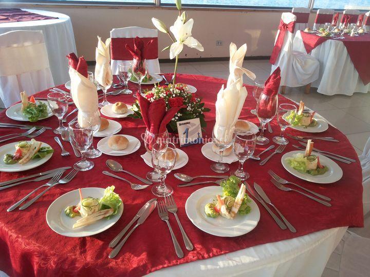 Almuerzo matrimonio