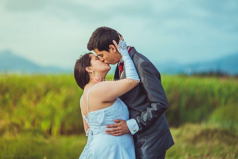 Post boda en exteriores