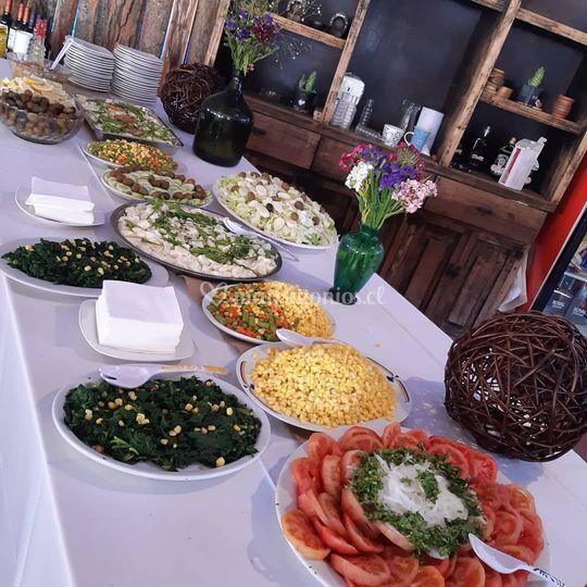 Ensaladas buffet