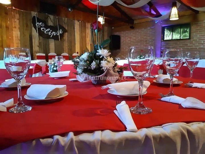 Mesas cena