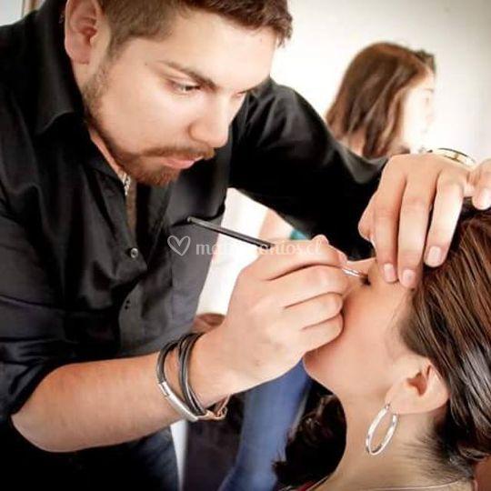 Diego Vega Styling Hair