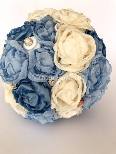 Ramo tonos azules