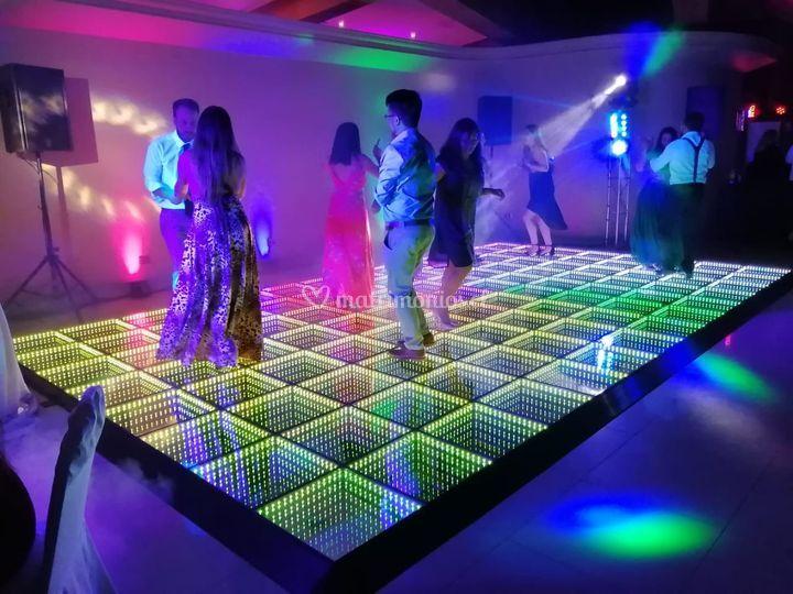 Pista de baile infinity