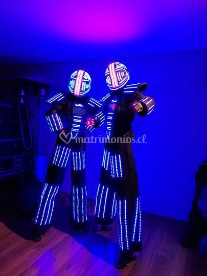 Tron Robot Led