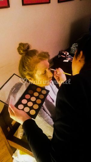Maquillaje clienta