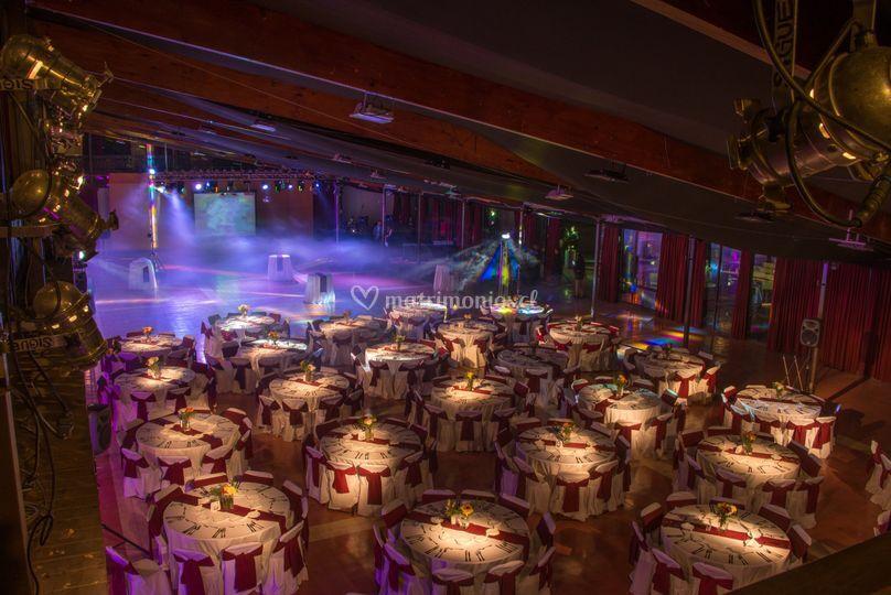 Salón y fiesta