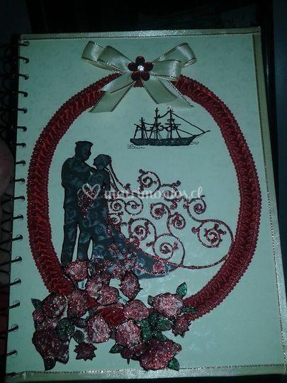 Libro parabienes de marinero